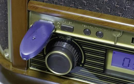 Roadstar HIF1923TUMPK USB-Plattenspieler Holz