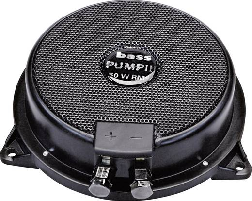 Auto-Subwoofer passiv 130 mm 80 W Sinuslive Bass-Pump III 4 Ω