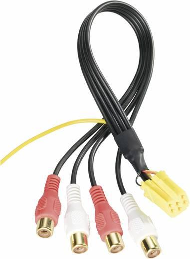 AIV Mini-ISO-Stecker auf 4 x Cinch-Buchse Mini ISO Stecker