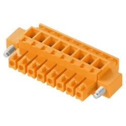 Zásuvkové púzdro na kábel Weidmüller BCZ 3.81/04/90F SN OR BX 1940000000, 25.66 mm, pólů 4, rozteč 3.81 mm, 50 ks