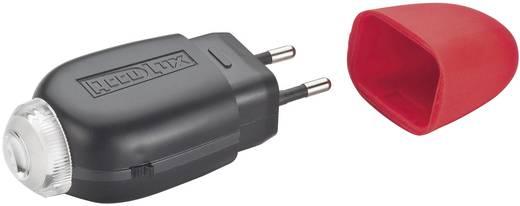 LED Mini-Taschenlampe AccuLux LED 2000 exclusive akkubetrieben 63 g Schwarz, Rot