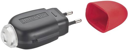 LED Mini-Taschenlampe AccuLux LED 2000 exklusiv akkubetrieben 63 g Schwarz, Rot