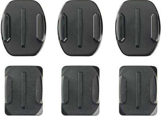 Klebepads GoPro Curved + Flat Adhesive Mounts AACFT-001 Passend für=GoPro