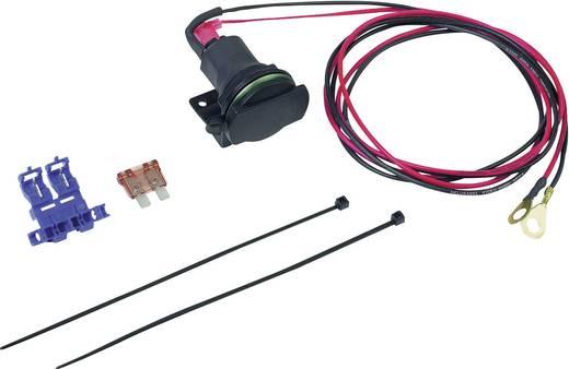 BAAS Zigarettenanzünderdose mit Rohrhalter ZA01 Belastbarkeit Strom max.=5 A Passend für (Details) Zigarettenanzünderstecker