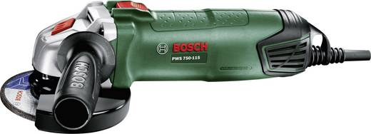 Winkelschleifer 115 mm 750 W Bosch Home and Garden PWS 750-115 06033A2400