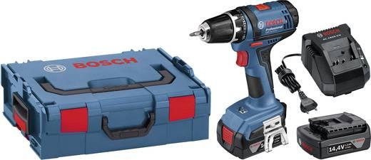 Bosch Professional GSR 14,4-2 LI Akku-Bohrschrauber 14.4 V 1.5 Ah Li-Ion inkl. 2. Akku, inkl. Koffer
