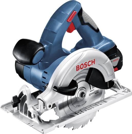 Bosch Professional GKS 18 V-LI Akku-Handkreissäge 165 mm inkl. 2. Akku, inkl. Koffer 18 V