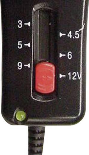 VOLTCRAFT SNG-1000-OC Steckernetzteil, einstellbar 3 V/DC, 4.5 V/DC, 5 V/DC, 6 V/DC, 9 V/DC, 12 V/DC 1000 mA 12 W