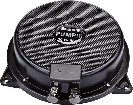 Auto-Subwoofer passiv 130 mm 80 W Sinuslive Bass-Pump III 8 Ω