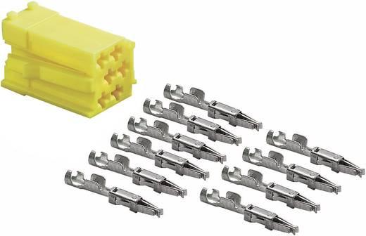 Mini ISO Stecker AIV Gelb