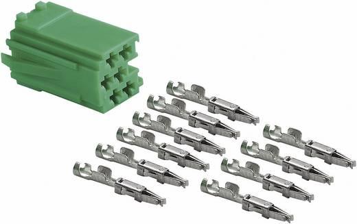 Mini ISO Stecker AIV Grün