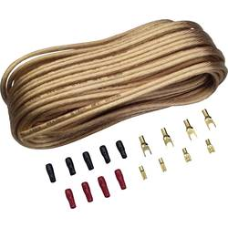 Sada kabelu a zástrček pro reproduktory Sinus Live, 2pólový, 4 mm², 10 m