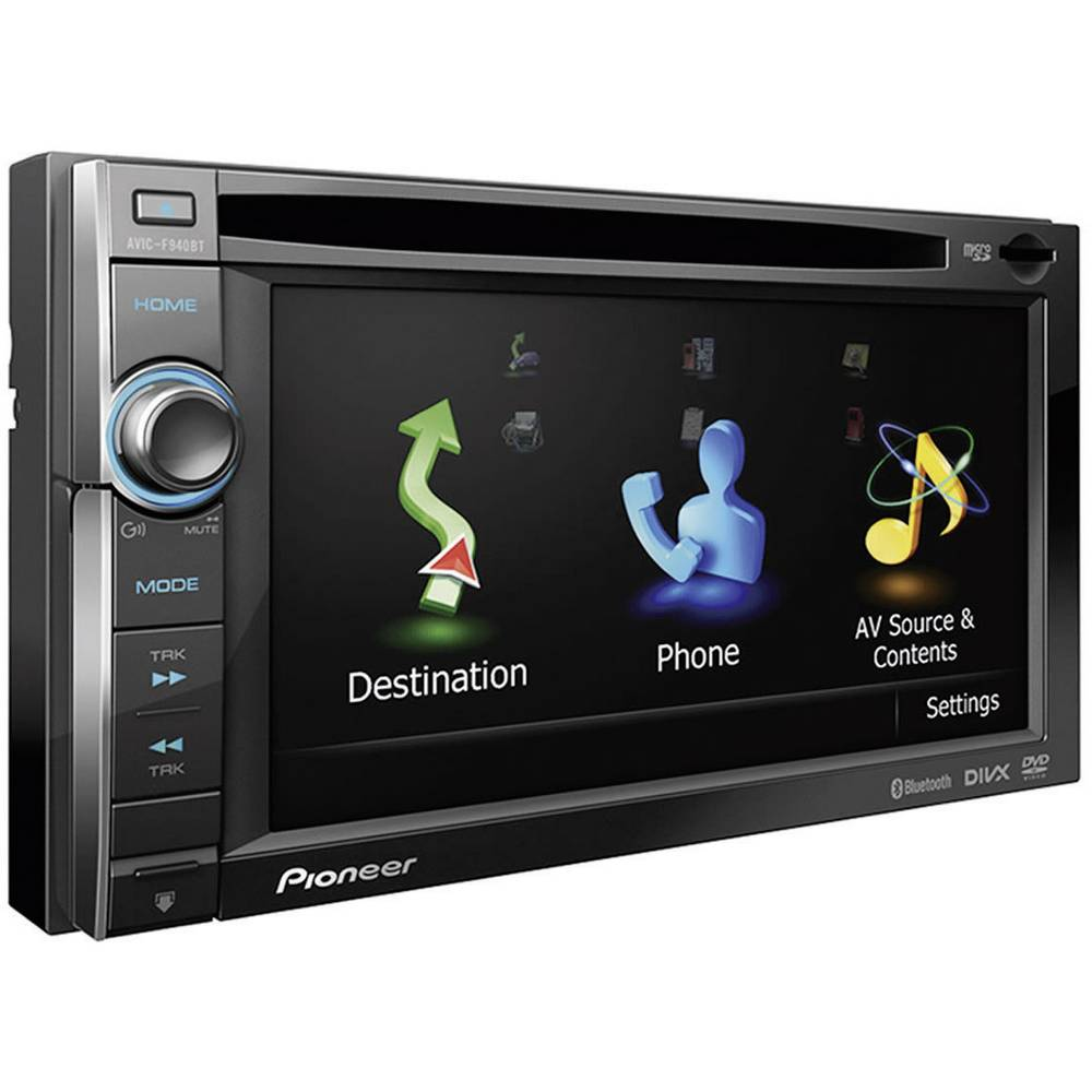 pioneer double din satnav maps of europe from. Black Bedroom Furniture Sets. Home Design Ideas