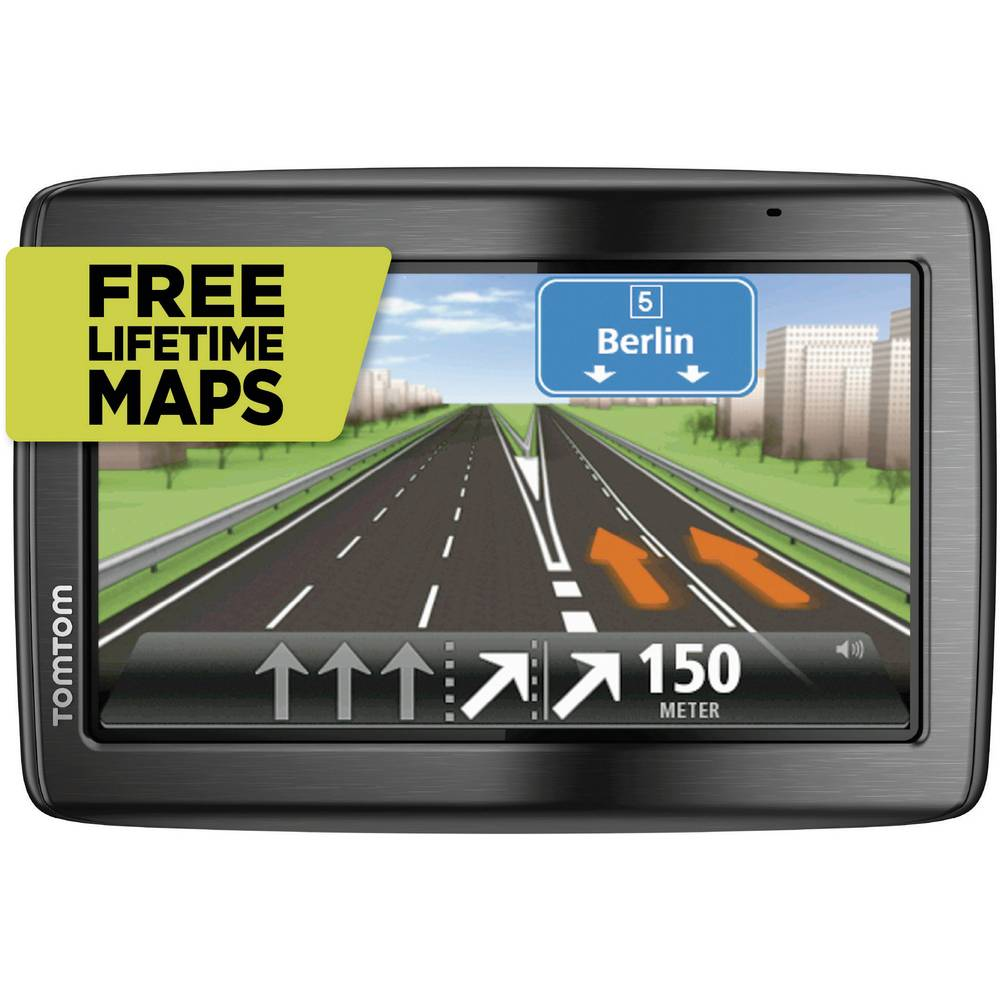 gps tomtom via 135m europe 45 pays 5 carte vie. Black Bedroom Furniture Sets. Home Design Ideas