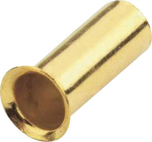 Aderendhülse 1x 4 mm² Sinuslive vergoldet