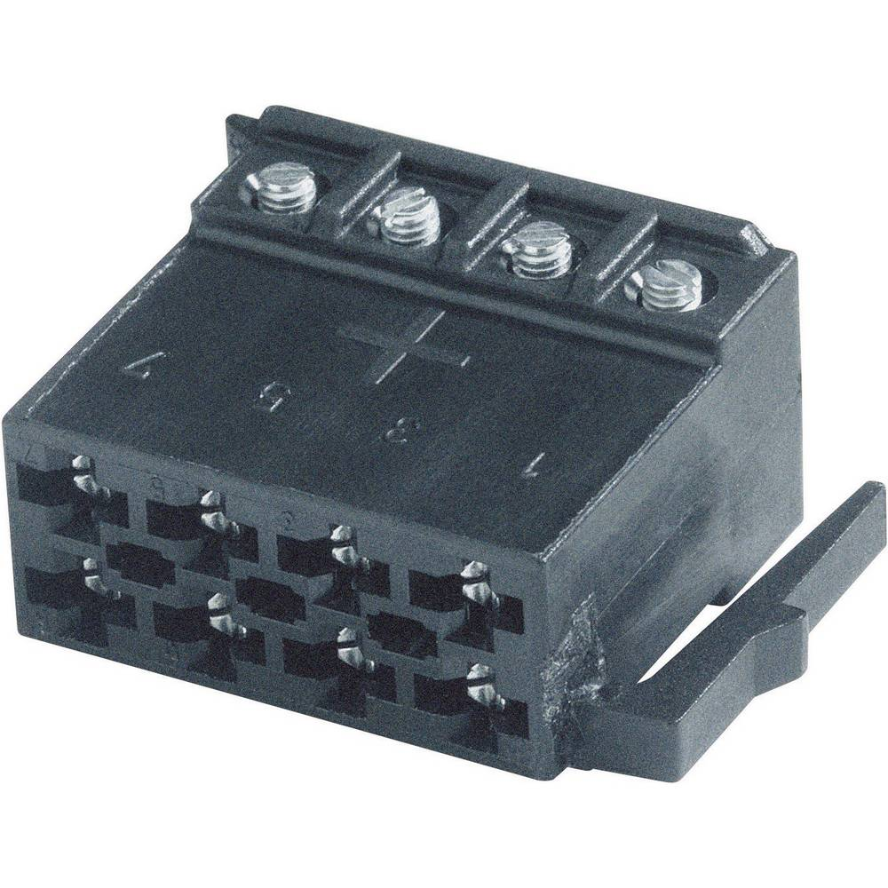 ISO 8-pin Car Audio Connector AIV Strom 8pol. from Conrad.com