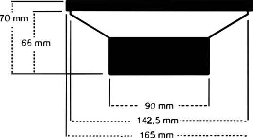 2-Wege Koaxial-Einbaulautsprecher 140 W Sinuslive SL 165C
