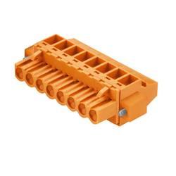 Zásuvkové púzdro na kábel Weidmüller BLZP 5.00/10/90F SN BK BX 1959670000, 59.80 mm, pólů 10, rozteč 5 mm, 30 ks