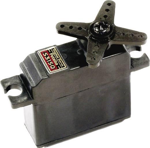 Futaba Midi-Servo S 3150 Digital-Servo Getriebe-Material: Teil-Metall Stecksystem: Futaba