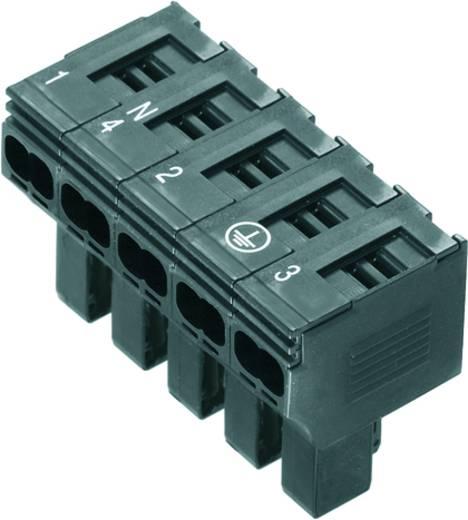 Sicherungs-Steckverbinder flexibel: 0.5-4 mm² starr: 0.5-4 mm² Polzahl: 5 Weidmüller 1952130000 10 St. Schwarz