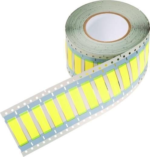 Schrumpfschlauchmarkierer Montage-Art: aufschieben Beschriftungsfläche: 50.80 x 6 mm Passend für Serie Einzeldrähte Gelb