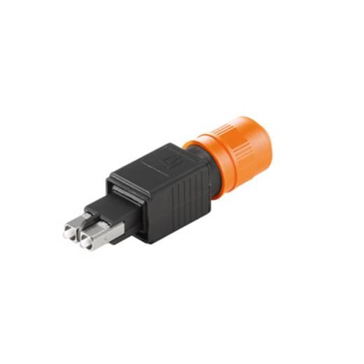 LWL-Steckverbinder Weidmüller IE-PS-V04P-2SC-POF Steckverbinder