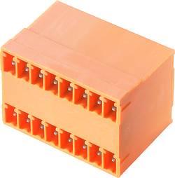 Boîtier mâle (platine) série BC/SC Weidmüller SCD 3.81/12/90G 3.2SN OR BX 1972830000 Nbr total de pôles 12 Pas: 3.81 mm