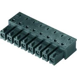 Zásuvkové puzdro na dosku Weidmüller BCL-SMT 3.81/04/90 1.5SN BK BX 1974780000, 16.03 mm, pólů 4, rozteč 3.81 mm, 50 ks