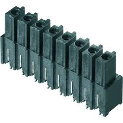 Zásuvkové puzdro na dosku Weidmüller BCL-SMT 3.81/04/180 1.5SN BK BX 1976520000, 16.03 mm, pólů 4, rozteč 3.81 mm, 50 ks
