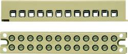 Barrette de raccordement mono et multipolaire Weidmüller MK 3/4/E 7906130000 50 pc(s)
