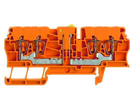 Prüftrenn-Reihenklemme ZTR 2.5/4AN OR Weidmüller Orange Inhalt: 100 St.