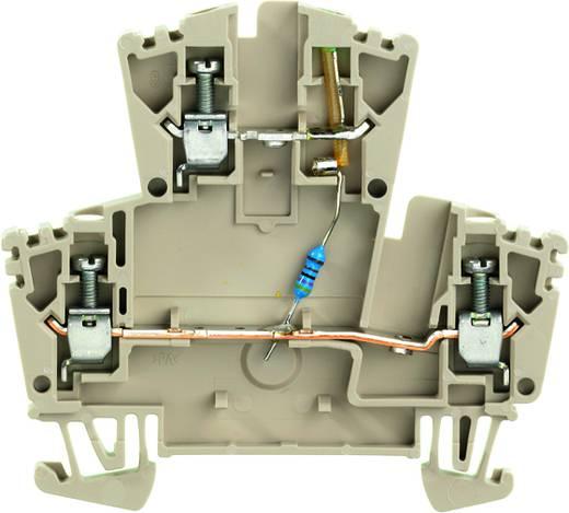Doppelstock-Reihenklemme WDK 2.5 LD/GN 1R 24VDC Weidmüller Inhalt: 25 St.