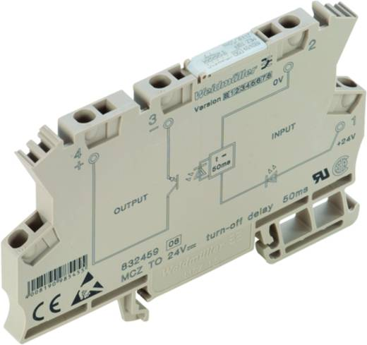 Weidmüller MCZ TO 24VDC/50MS Zeitrelais Monofunktional 24 V/DC 10 St. 1 Schließer