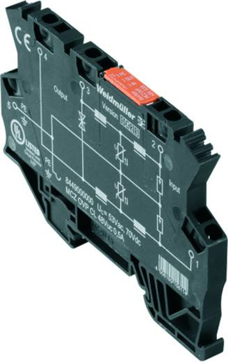 Überspannungsschutz MCZ OVP CL 48VUC 0.5A Hersteller-Nummer 8449000000 Weidmüller Inhalt: 10 St.