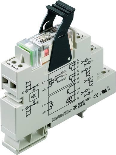 Relaisbaustein 10 St. Weidmüller PRS 24VDC LD 2COAU Nennspannung: 24 V/DC Schaltstrom (max.): 8 A 2 Wechsler
