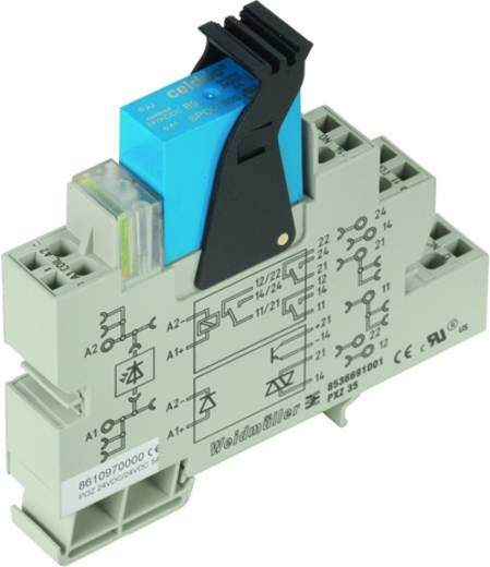 Halbleiterrelais 10 St. Weidmüller POZ 24VDC/24VDC 5A Last-Strom (max.): 5 A Schaltspannung (max.): 30 V/DC