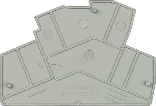 Abschlussplatte ZAP/TW ZDK4-2 8670760000 Weidmüller 50 St.