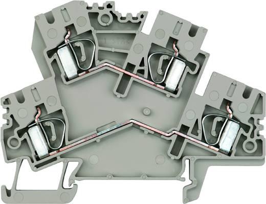 Doppelstock-Reihenklemme ZDK 4-2 BL Weidmüller Inhalt: 50 St.