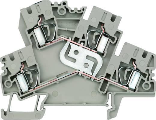 Doppelstock-Reihenklemme ZDK 4-2 V Weidmüller Inhalt: 50 St.