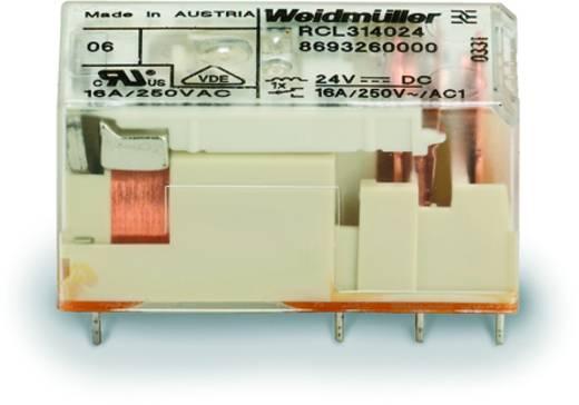 Printrelais 24 V/DC 16 A 1 Wechsler Weidmüller RCL314024 20 St.