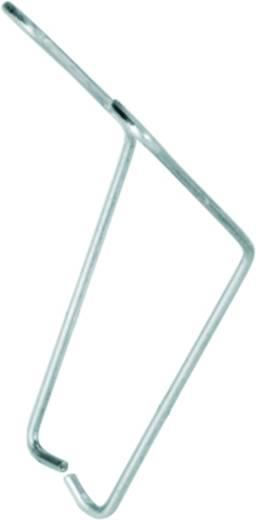 Haltebügel Silber 10 St. Weidmüller SRC CLIP HM