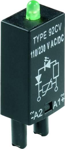 Steckmodul mit LED 10 St. Weidmüller RIM 4 6 / 24VUC GN Leuchtfarbe: Grün Passend für Serie: Weidmüller Serie RIDERSERIE