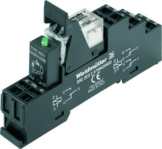 Relaisbaustein 10 St. Weidmüller RCLKITZ 24VDC 1CO LED Nennspannung: 24 V/DC Schaltstrom (max.): 16 A 1 Wechsler