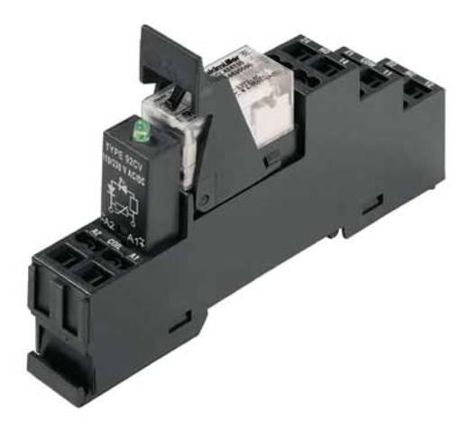 Relaisbaustein 10 St. Weidmüller RCLKITZ 24VDC LED 2CO Nennspannung: 24 V/DC Schaltstrom (max.): 8 A 2 Wechsler