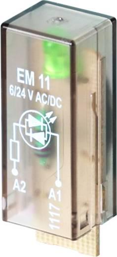 Steckmodul mit LED 10 St. Weidmüller RIM I 3 6 / 24VUC GN Leuchtfarbe: Grün Passend für Serie: Weidmüller Serie RIDERSER