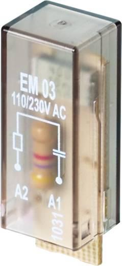 Steckmodul mit RC-Glied, ohne LED 10 St. Weidmüller RIM I 3 6 / 60VAC RC Passend für Serie: Weidmüller Serie RIDERSERIE