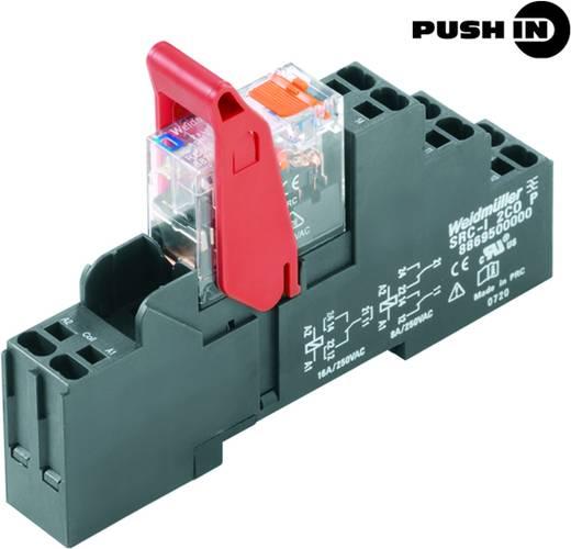 Relaisbaustein 10 St. Weidmüller RCIKITP 24VDC 1CO LD/PB Nennspannung: 24 V/DC Schaltstrom (max.): 16 A 1 Wechsler