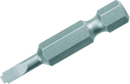 Schlitz-Bit 4 mm Weidmüller BIT E6.3Z 0.8X4.0X70 Chrom-Vanadium Stahl gehärtet E 6.3 5 St.