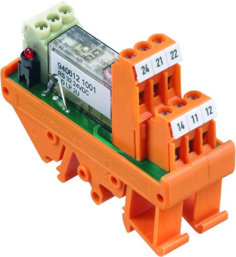 Relaisplatine 10 St. Weidmüller RS 32 24VDC LD LP 2U 2 Wechsler