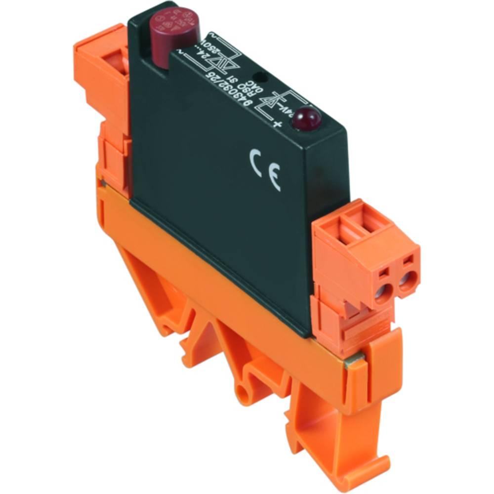 Weidmüller Halvledar-relä RSO31-OAC24/F Belastningsström (max.): 3 A Växelspänning (max.): 250 V/AC 20 st